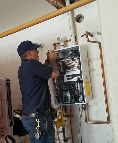 residential plumbing and water heater services