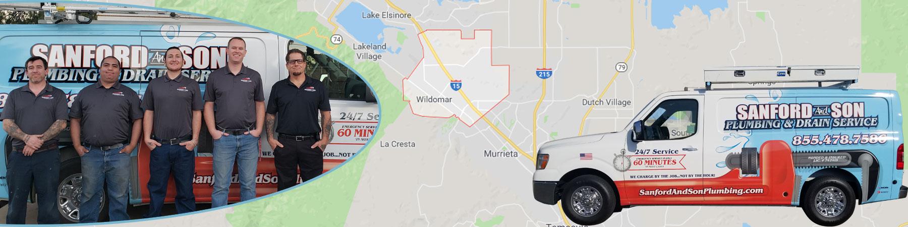 Plumbing Services Wildomar, California